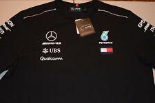 NEW 2018 F1 AMG MENS Team Driver T-shirt Tee Black NEW T SHIRT SIZE S M L XL XXL