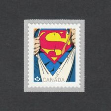 ma. SUPERMAN  COIL stamp. Comic Book Character CANADA 2013 MNH
