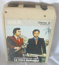 LA NAZIONALE DEL LISCIO La Vera Romagna (1976) 8-Track Tape STEREO 8