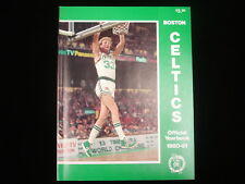 1980-81 Boston Celtics Official Yearbook