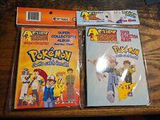 Two Artbox Pokemon Action Flipz Super Collection Album 1998 Sealed