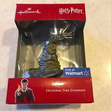 Hallmark ~ HARRY POTTER SORTING HAT ~ 2018 Red Box Christmas Ornament
