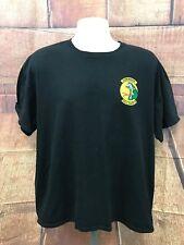 Men's Air Force Diamondback 466th Fighter Squadron Black T Shirt Size XL