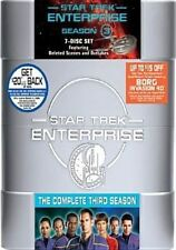 Star Trek Enterprise - The Complete Third Season 7 Di (region 1 DVD Good)