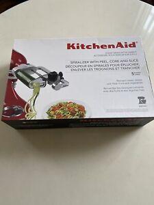 KitchenAid Spiralizer Peel Core Slice Attachment Not used