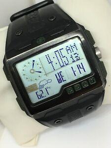 Timex Expedition M810 T49664 Shock Gents Digital Watch Black Slicon Strap Light