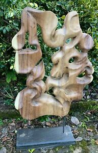 Rustic Art - Nature on a Stand - Tree Sculpture - Large