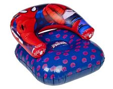 CHILDREN'S INFLATABLE SPIDERMAN CHAIR KIDS BLOW UP GAMING LOUNGER NEW DESIGN 430
