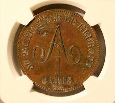 Rare! R1! Russia France 1814 5 Francs Module Alexander I - NGC UNC