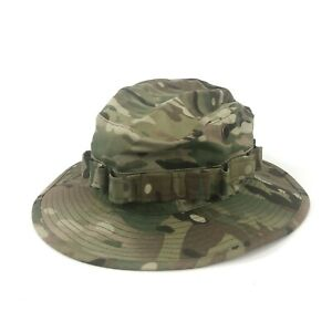 Multicam Boonie Cap Military Army Crye Precision Camo Outdoor Sun Hat Army
