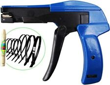 Heavy Duty Cable Tie Gun Fasten Cable Tool Cut Zip Cutter Steel For Nylon Cable