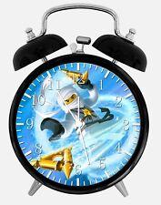 """Lego Ninjago Alarm Schreibtisch Uhr 3.75"""" Heim oder Büro Dekor X59 Nizza für Geschenk"""