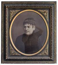 photo Portrait femme par C. Brion époque fin XIXème