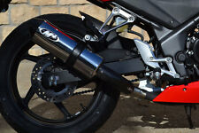 M4 Exhaust Honda CBR300R/ CB300F Slip on system with POLISHED muffler