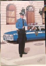 Postcard New York City Police Department - unposted
