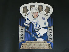 2011-12 Crown Royale #85 Vincent Lecavalier Tampa Bay Lightning