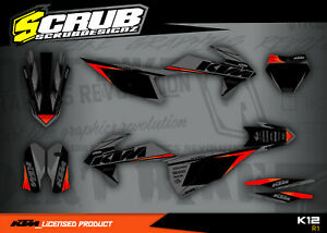 KTM graphics SX SXf 125 150 250 300 350 450 2019 2020 2021 2022 SCRUB XC XCf