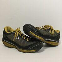 Skechers Shape-Ups 52080 Black Yellow Men's 12 Walking Toning Shoes