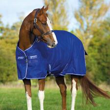 Horseware Rambo Newmarket competition Fleece-azul//blanco a rayas-ausreitdecke