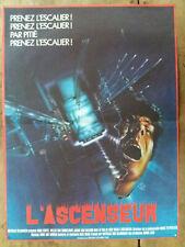 Affiche L'ASCENSEUR Dick MAAS Huub STAPEL Horreur Epouvante  40x60cm