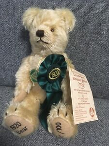 Hermann Teddy Bear - Decade Bears Miniature Edition