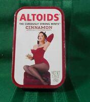 2000 Altoids Mints Limited EditionTIN Sindy Cinnamon on OttomanCollectible EMPTY
