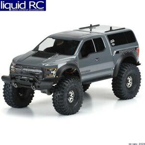 Pro-Line 3509-00 2017 Ford F-150 Raptor Clear Body for 12.8 TRX-4