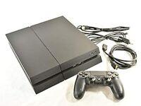 SONY PS4 PlayStation 4 Jet Black CUH-1200B-B01 1TB from Japan Fedex Shipping