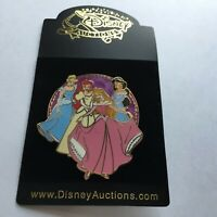 Disney Auctions P.I.N.S. Princesses LE 250 Ariel Aurora Jasmine Disney Pin 37351