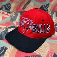 RARISSIMO CAPPELLO Chicago Bulls BASKETBALL CAP NBA NO MICHAEL JORDAN  STARTER US 139c9214e85e