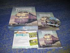 Railroad Tycoon II PC Erstausgabe BIG BOX Sammler deutsch