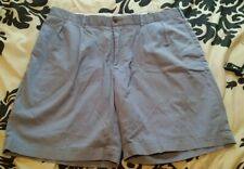 Ralph Lauren Polo Golf Mens Blue Shorts Size 38 Cotton Twill Stretch Plaid Crest