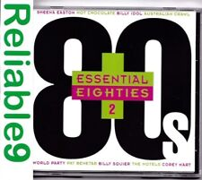 Australian Crawl+Peter Blakery+Pat Benatar- Essential Eighties 2 CD 1998 EMI AUS