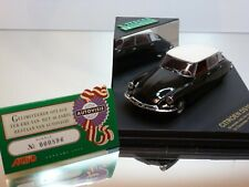 VITESSE CITROEN DS19 1st model tested by Autovisie '55- 1:43 - EXCELLENT IN BOX