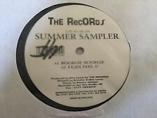 """Britalics & Dino Lenny - Bourgie Bourgie - Summer Sampler (The Records 12"""" DL004"""