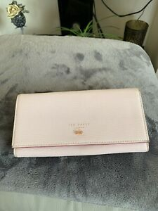 Pink Ted Bake  Leather purse