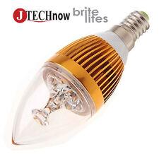 New E12 6W Warm White Light Super Energy Saving LED Bulb.