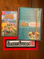 Animal Crossing New Horizons Nintendo Switch Game and Journal - New Free Ship