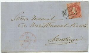 Chile Brief Chillan Santiago 1866