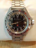 Vostok Komandirskie Mens Watch 80's