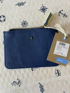 Joules Blue Purse Faux Leather NWT