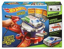 Hot Wheels Airbrush Auto Designer Ages 6+ 1 Car Toy Cars Boys Girls Mattel Fun