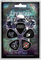 Avenged Sevenfold The Scene 5 Plectre Pack ( Rz )