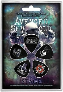 Avenged Sevenfold The Stage  5 Plectrum Pack (rz)