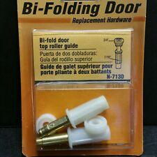 2 PACK Bi-Folding/Fold Door Replacement Top Roller Guide Replacement Part N-7130