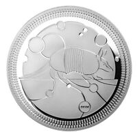 SILVER 1 OZ LE GRAND ARMADILLO 2020 EVOLUTION II GÜRTELTIER SILBER 9999 PROOF