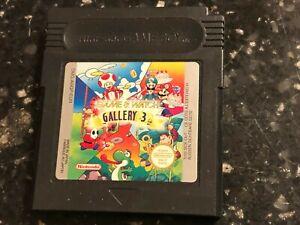 NINTENDO GAMEBOY COLOR GAME & WATCH GALLERY 3 mario bros dk jr egg greenhouse ++