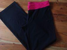 Adidas climalite stretch straight leg black trousers, gym, yoga leggings, pants