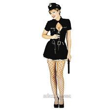 Costumi e travestimenti nero vestito per carnevale e teatro da donna taglia XS