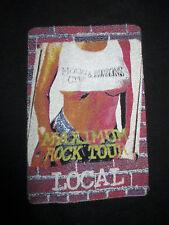"""1999 MOTLEY CRUE & SCORPIONS """"MAXIMUM ROCK"""" CREW Concert Tour (XL) T-Shirt"""